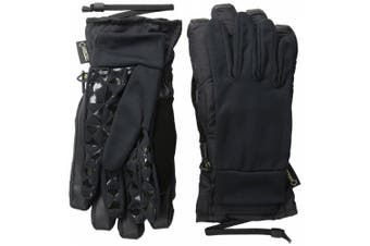 (X-Large, True Black) - Burton Women's Gore-Tex Under Gloves