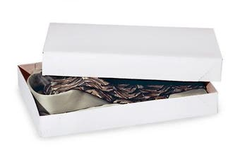 Men Shirt Box Women Top Box Gift Boxes Wrap Boxes Apparel Gift Boxes with Lids 5 Pack White