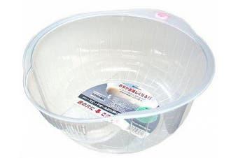 (2.4l) - Inomata 80800 Japanese Rice Washing Bowl with Strainer, 2.4l Capacity
