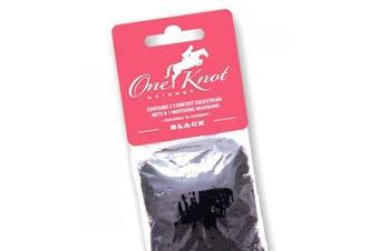 (Standard, Black) - One Knot Hairnet