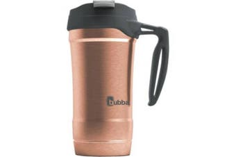 (Rose Gold) - bubba Hero Vacuum Insulated Stainless Steel Travel Mug with Handle, 530ml Rose Gold by Bubba Brands
