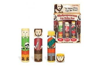 Accoutrements Shakespearean Lip Balm Set