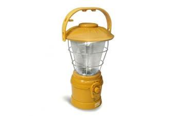 Pyle PSDNL22YL Multi Function Hand Crank Torch Lantern with AM-FM Radio - Yellow