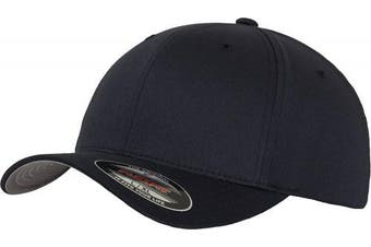 (XS-S, - Bleu marine) - Adult Flexfit Woolly Combed Cap