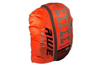 AWE® AWEBrightTM 3M Scotchlite Hi Viz Waterproof Rucksack Backpack Cover Orange
