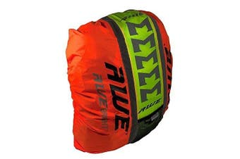 AWE® AWEBrightTM 3M Scotchlite Hi Viz Waterproof Rucksack Backpack Cover Neon Yellow/Orange