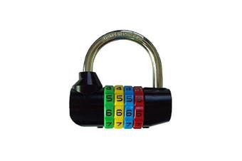 Bosvision 64mm Resettable Combination Padlock with 7.8mm shackle for gate, lodge, locker, luggage...