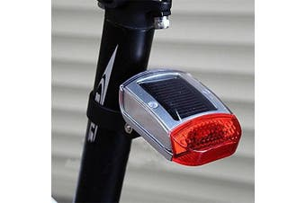 (style 1) - Xinhenchen Caro Solar Powered Bike Cycle Clip On Back Rear Tail Light Bicycle Safety LED Rear Tail Lamp
