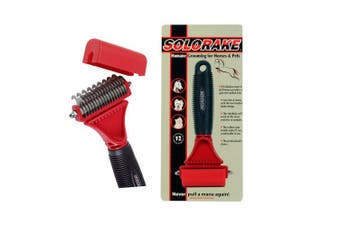 Solorake Humane Grooming Aid for Horses Dogs and Pets