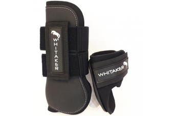 John Whitaker Tendon and Fetlock Set Full Horse Boots - Black