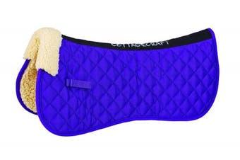 Cottage Craft Synthetic Fleece Lined Pony Half Pad - Purple
