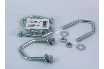 5.1cm x 6.4cm V Bolts by Auline® For Fitting Aerial Mast / Pole to Bracket