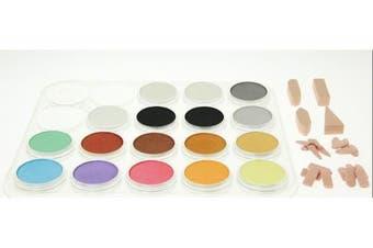 Panpastel 17 Metallic/Pearl/Medium Set