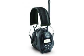 Walkers Digital AM/FM Radio Power Muff, Black