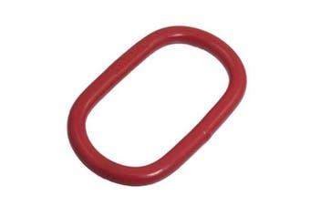 2T 2000kg High Strength Oval Lashing Lifting Ring Tool Red