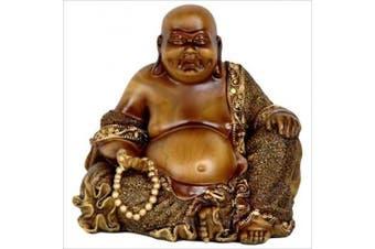 Oriental Furniture 15cm Sitting Laughing Buddha Statue
