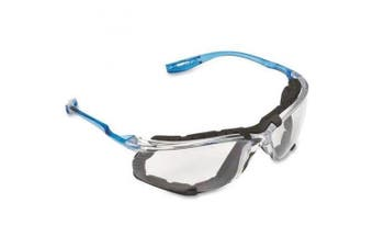 (Clear) - 3M Virtua CCS Protective Eyewear 11872-00000-20, Foam Gasket, Anti Fog Lens, Clear