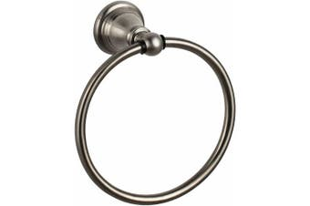Ultra Faucets Towel Holders Traditional Towel Ring in Brushed Nickel Stainless Look 15500671