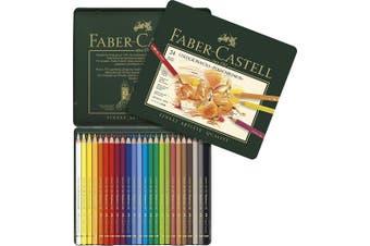 Polychromos Artists' Pencils FABER-CASTEL  Great Savings!! - 24 tin