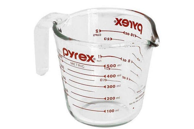 (Standard Packaging, One Size, Clear) - Pyrex Measuring Jug 500ml