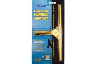 (30cm ) - Ettore 10012 Solid Brass Squeegee, 30cm