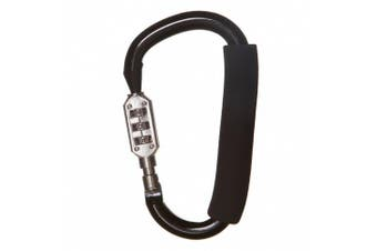 DreamBaby L294 - Dreambaby Stroller Carabiner with Combination Lock Large