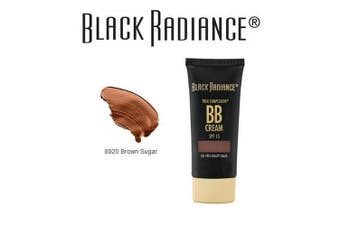 (8920brownsugar) - Black Radiance True Complexion BB Cream Oil Free Beauty Balm, SPF 15, 8920 Brown Sugar, 30ml