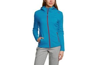 (D42, turquoise - Danubio) - CMP F.lli Campagnolo Women's Fleece Jacket