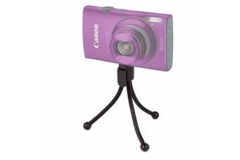 DURAGADGET Mini Collapsible Digital Camera Tripod For Canon PowerShot G16 / Canon PowerShot G1X Mark II / Canon PowerShot SX700 HS