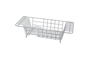 Grey Over-the-Sink Dish Drainer