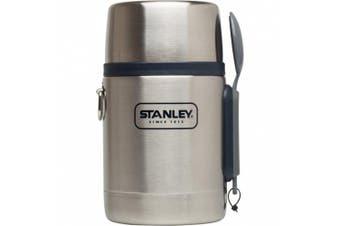 (18 oz, Stainless/Navy) - Stanley Adventure Vacuum Insulated Food Jar