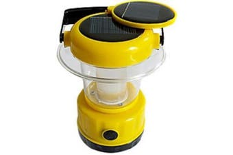 SINTECHNO Solar Powered White Bright 9 LEDs Emergency and Camping Lantern