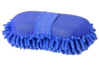 (Royal Blue) - Tough 1 Micro Fibre Bristle Sponge