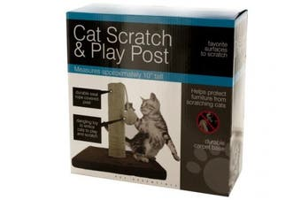 Bulk Buys OD425-1 Cat Scratch & Play Post