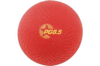 "Champion Sports PLAYGROUND BALL, 8-1/2"" DIAMETER, RED, 12 EA"