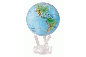 (3 Pronged Acrylic Base) - MOVA Blue Ocean Relief Map Revolving Globe 11cm