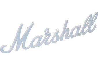 Marshall 28cm Amplifier Logo (White)