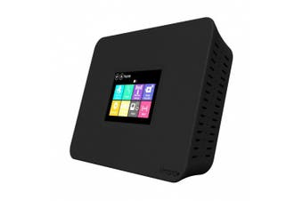 Securifi Almond+ : (3 Minute Setup) Long Range Touchscreen Wireless AC Gigabit Router + Home Automation Hub