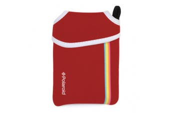 (Snap Instant, Red) - Polaroid Neoprene Pouch for The Polaroid Snap & Snap Touch Instant Camera (Red)