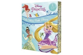 Disney Princess Little Golden Book Library