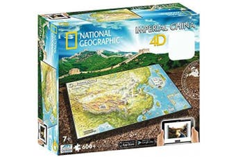(Imperial China) - 4D Cityscape Time Puzzle National Geographic Imperial China: 600 Pcs