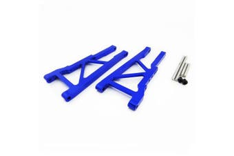 (Front Lower Arm, Blue) - Atomik RC Alloy Front Lower Arm, Blue fits the Traxxas 1/10 Slash 4X4 and Other Traxxas Models - Replaces Traxxas Part 3655X