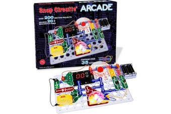 (Multi-colored) - Snap Circuits Arcade Electronics Discovery Kit
