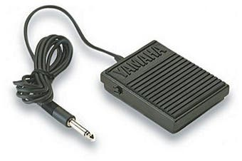 (Compact Sustain Pedal) - Yamaha FC5 Compact Sustain Pedal for Portable Keyboards, black