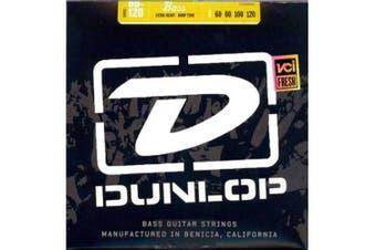 (Extra Heavy Drop, 4 String) - DUNLOP DBN60120 Nickel Extra Heavy Stainless Steel Bass Guitar 4-String Set, .60-.120 Gauge