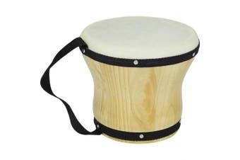 Rhythm Band Bongos Single Medium 15cm . H x 13cm - 1.3cm . Dia.