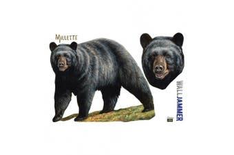 (48 x 72, Big Black Bear) - Big Black Bear - Advanced Graphics WallJammer