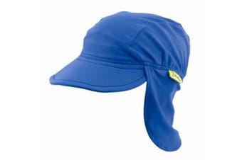 Banz Flap Hat True Blue - Medium