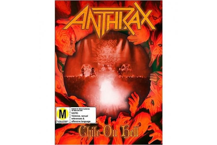 Anthrax Chile on Hell DVD/CD