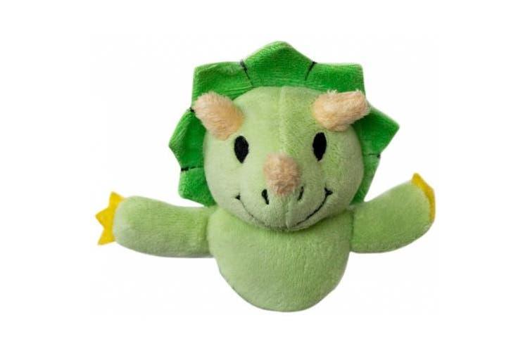 (DIN003, Green) - Shutter Huggers DIN003 Mini Shutter Hugger for Portable Video Devices, Dinosaur (Green)